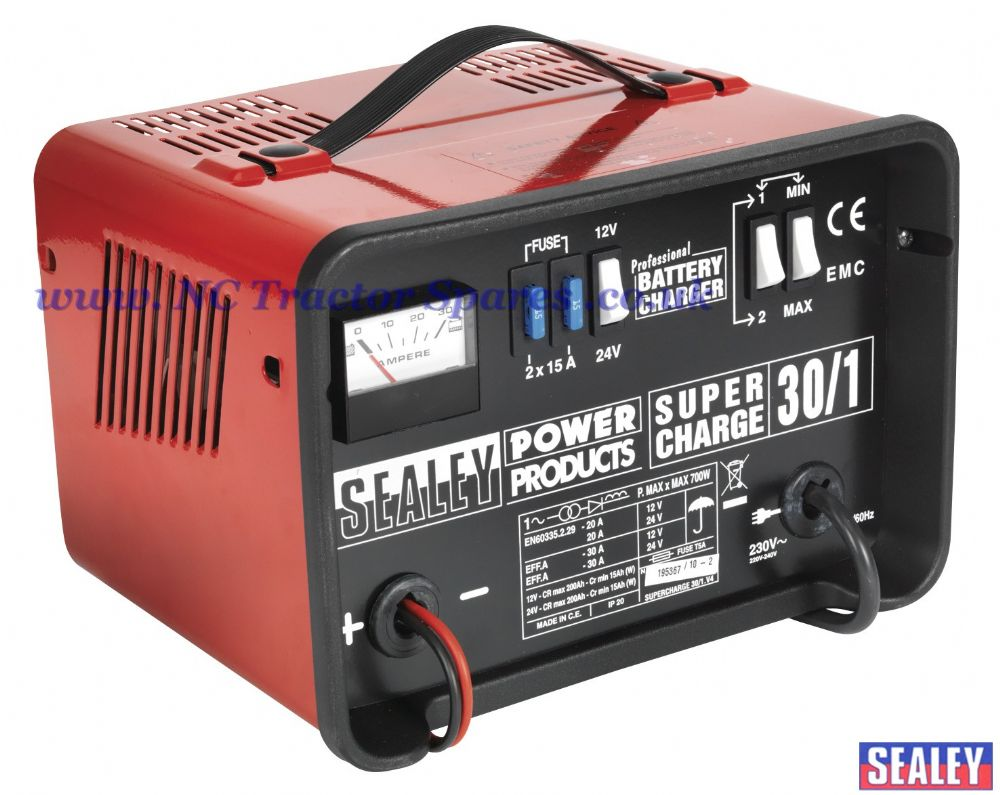 Battery Charger 30Amp 12/24V 230V
